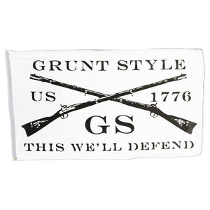 Grunt Style - This We'll Defend White Flag