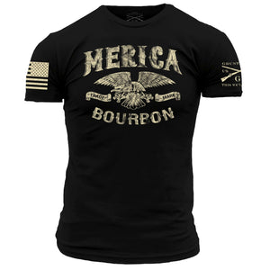 Merica Bourbon Trademark - Black