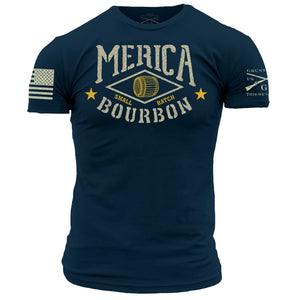 Merica Bourbon Barrel - Navy