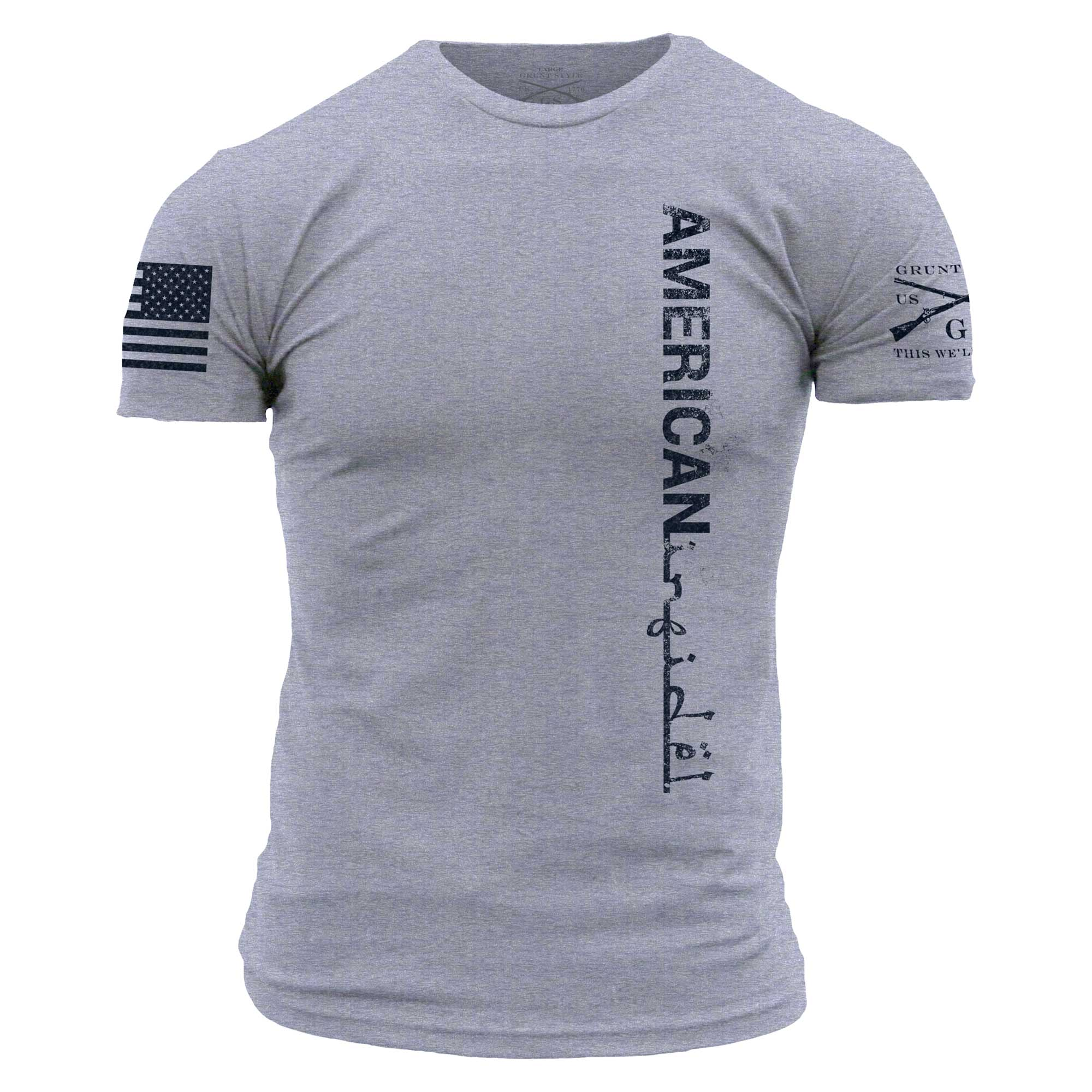American Infidel - Heather Grey