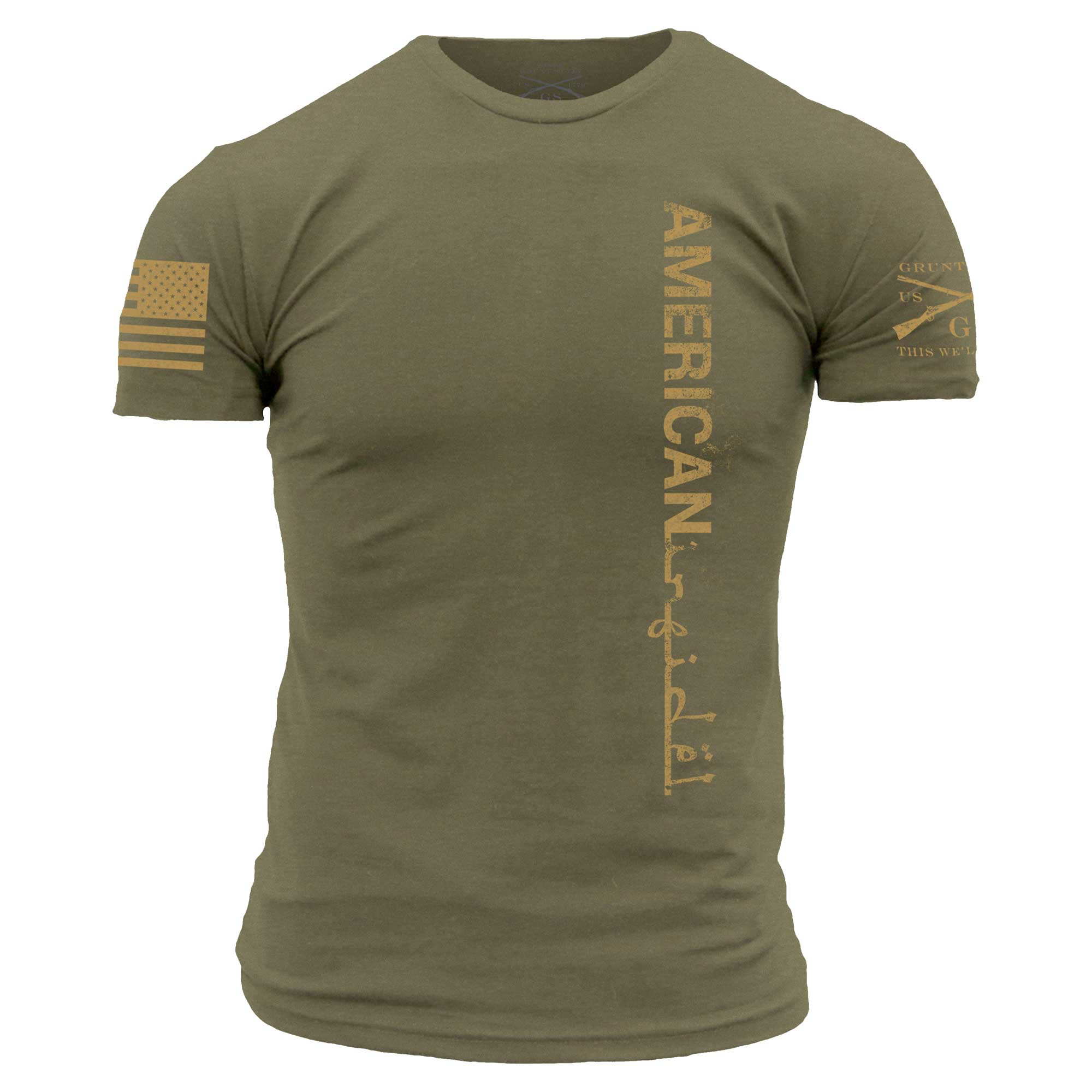 American Infidel - Military Green