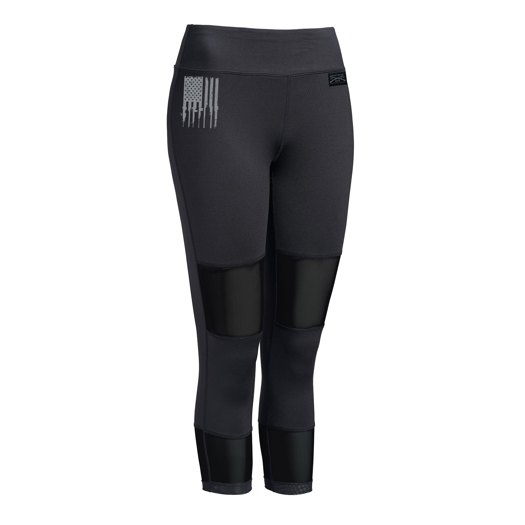Rifle Flag Mesh Capris