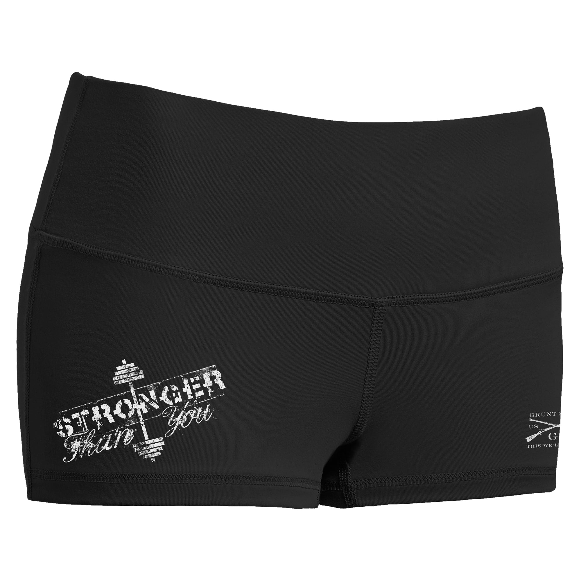 Stronger Than You Booty Shorts