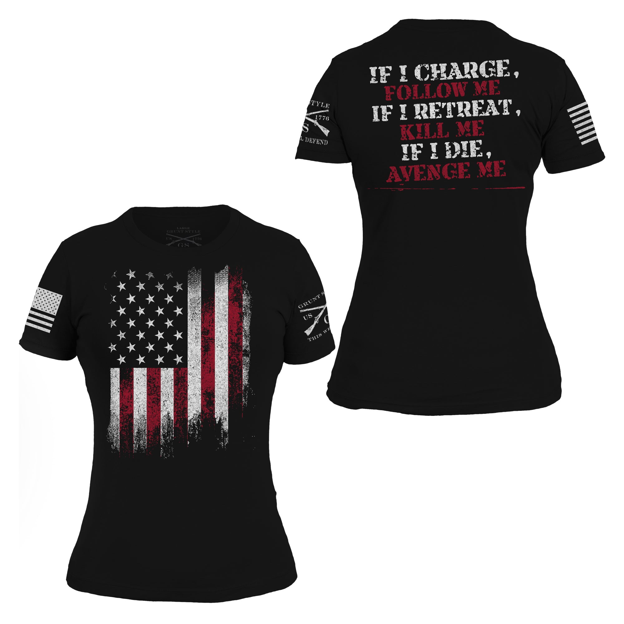 Avenge Me Throwback - Women's