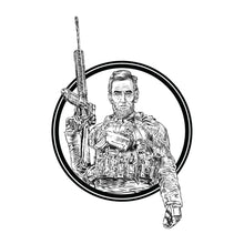 Load image into Gallery viewer, Tactical Abe Sticker