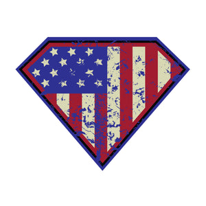 Super Patriot Sticker