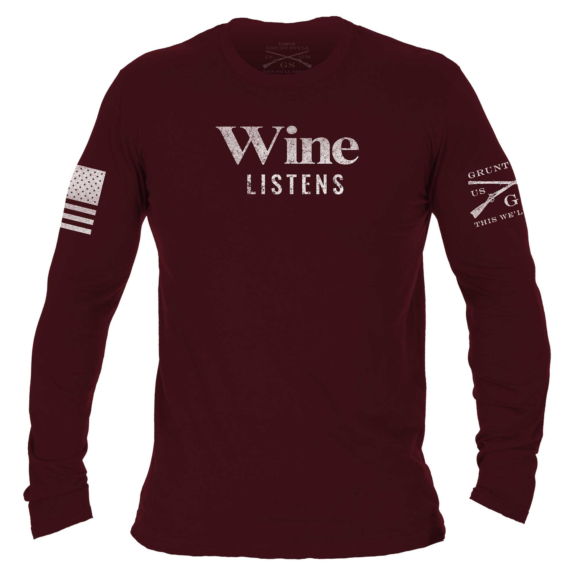 Wine Listens Long Sleeve