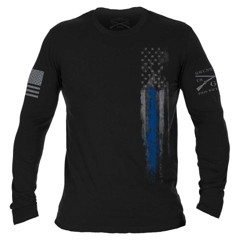 Blue Line Flag Long Sleeve
