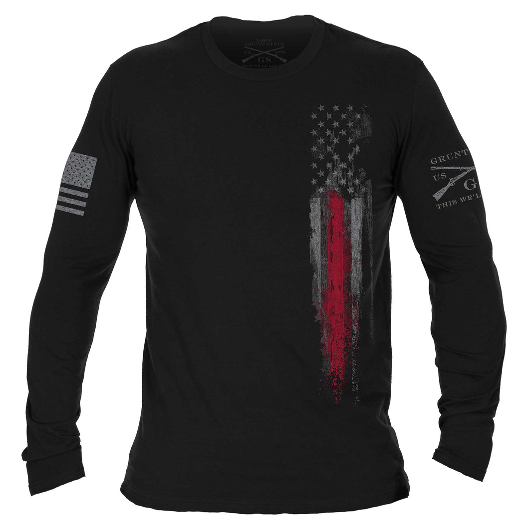 Red Line Flag Long Sleeve