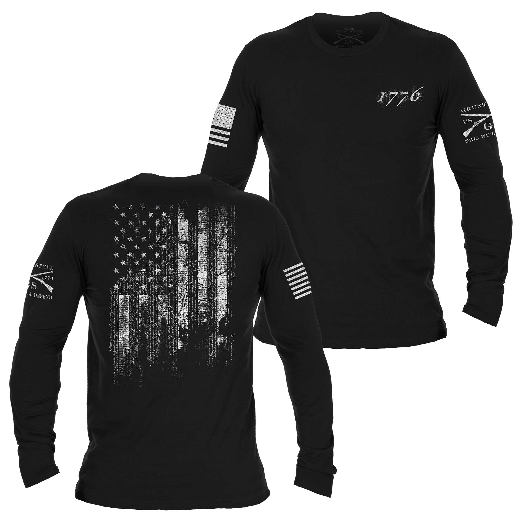 1776 Flag Long Sleeve