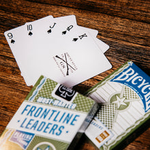 Load image into Gallery viewer, Bicycle® Frontline Leaders Cards