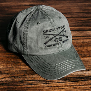 GS Vintage OD Green Hat