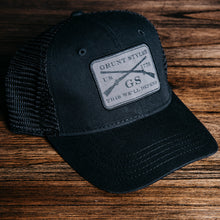 Load image into Gallery viewer, GS Twill Logo Hat - Black