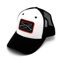 Load image into Gallery viewer, GS Woven Label Trucker Hat
