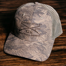 Load image into Gallery viewer, GS Logo Topography Hat - Sand