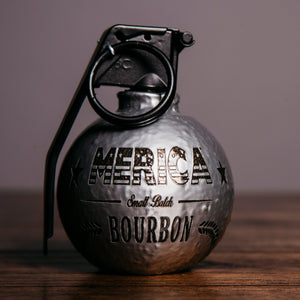 Merica Bourbon - Chrome Bottle Breacher Frag