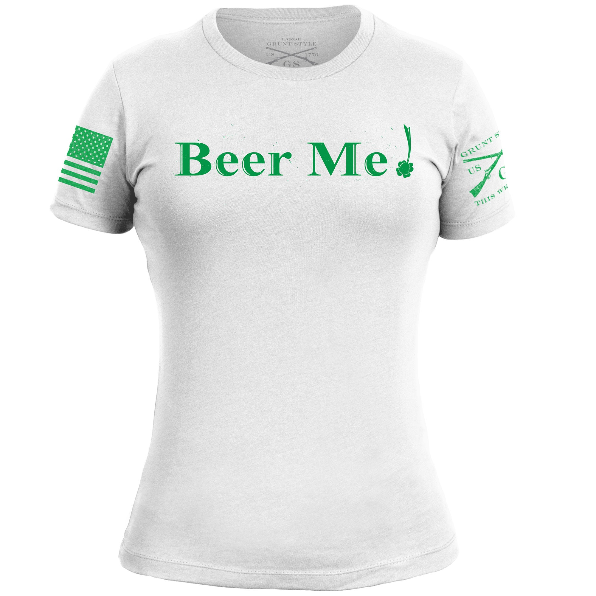Beer Me Women's - White