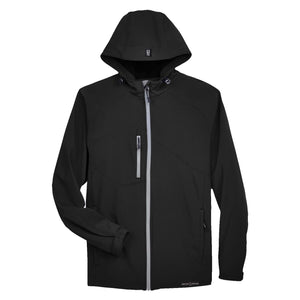 Grunt Style Soft Shell Hooded Jacket - Black