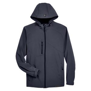 Grunt Style Soft Shell Hooded Jacket - Fossil Grey