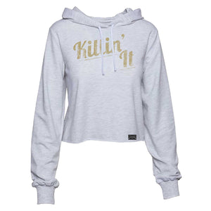 Killin' It Cropped Hoodie