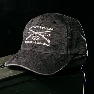 GS Charcoal Wash Hat