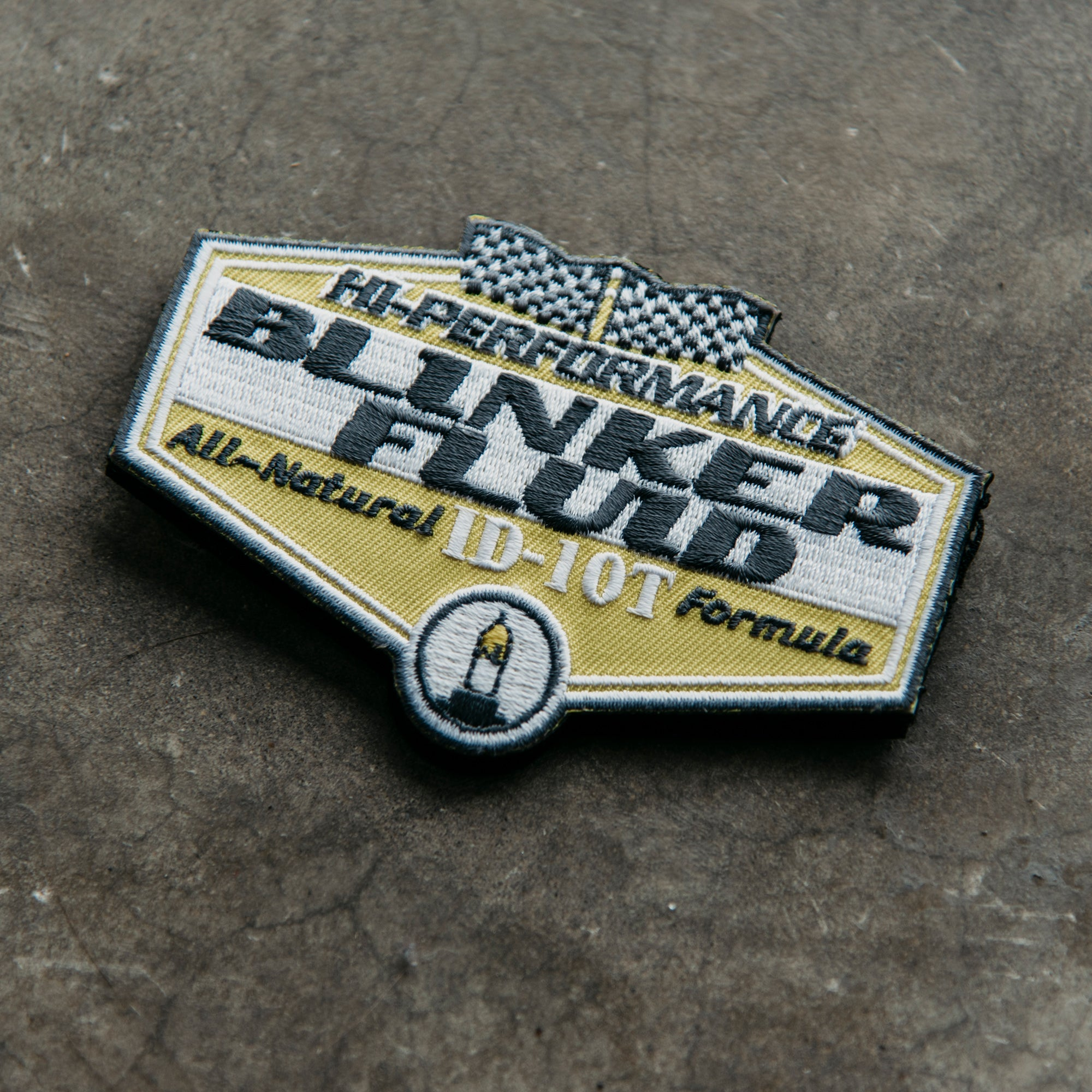 Blinker Fluid Patch