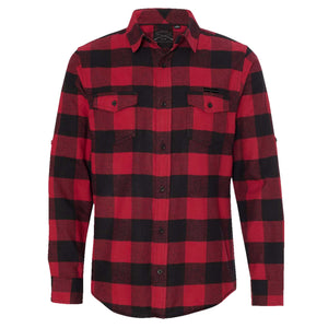 GS Button Up Buffalo Plaid Flannel