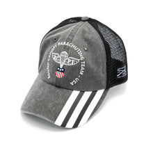 Load image into Gallery viewer, RCPT - Vintage Charcoal Mesh Snapback