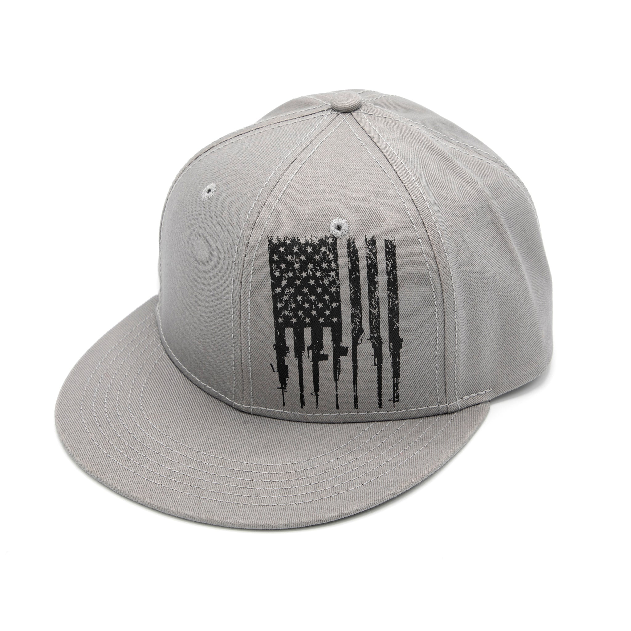 GS Rifle Flag Flat Bill Hat
