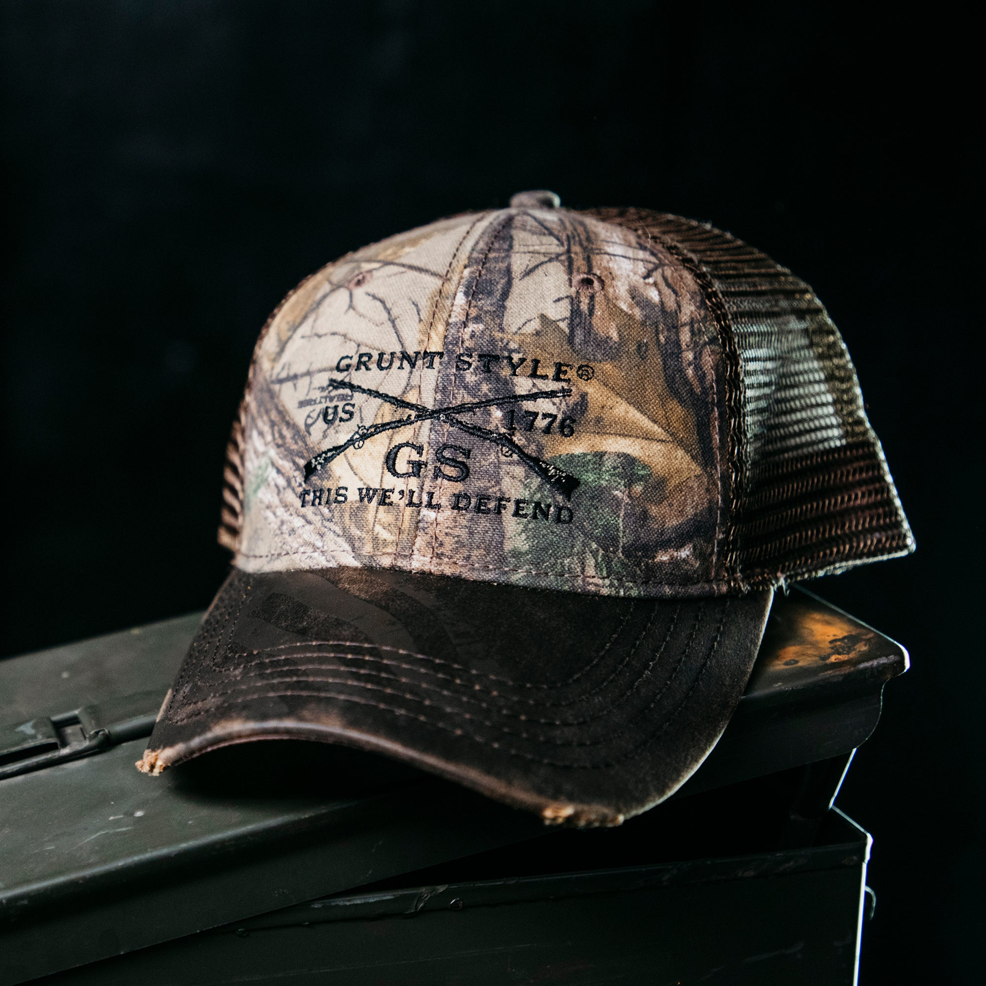 Realtree Xtra®GS Embroidered Logo Flag Hat