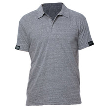 Load image into Gallery viewer, GS Unisex Triblend Polo - Grey