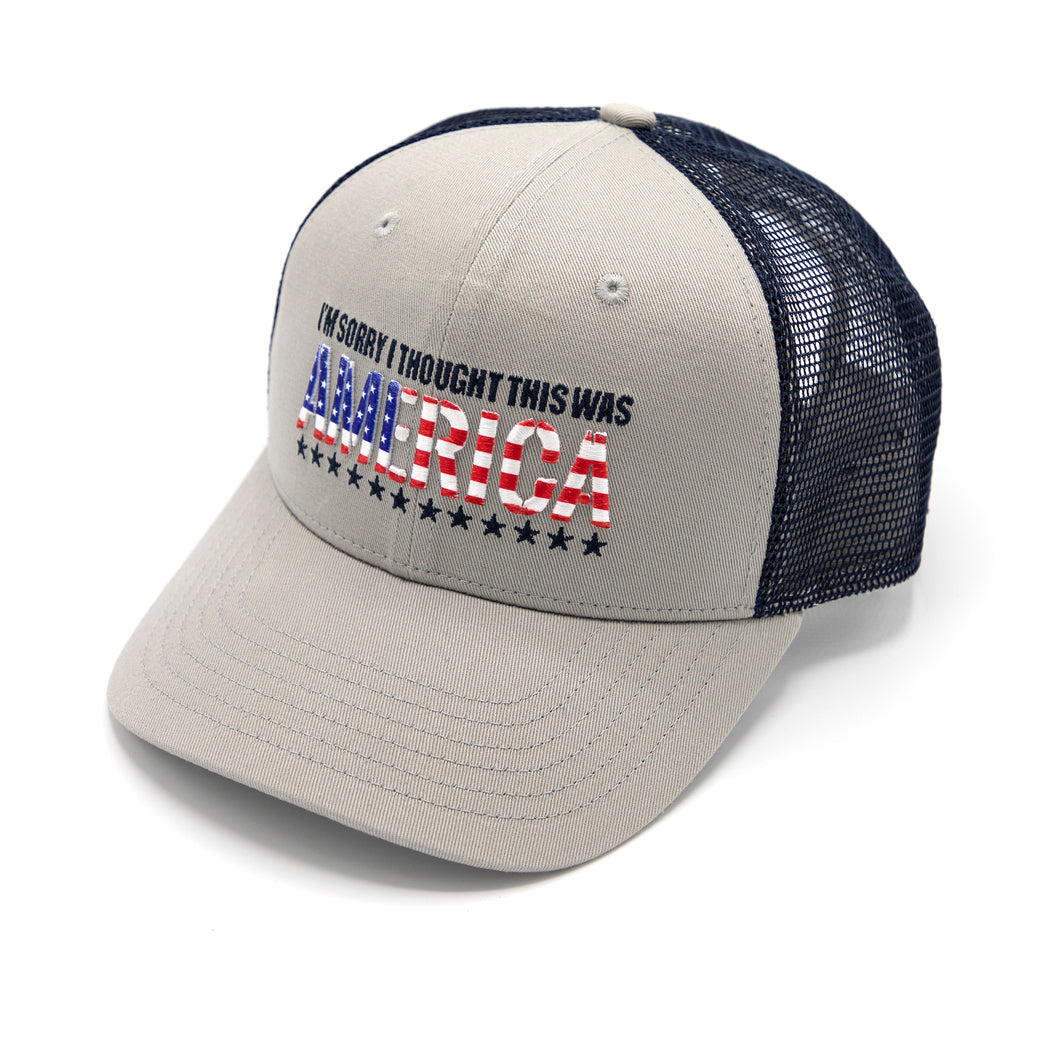 I Thought This Was America Hat