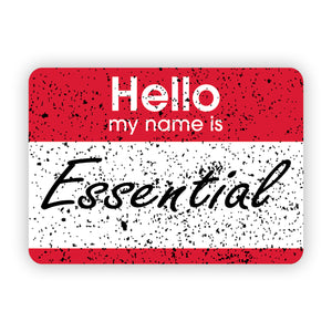 Hi, I'm Essential Sticker