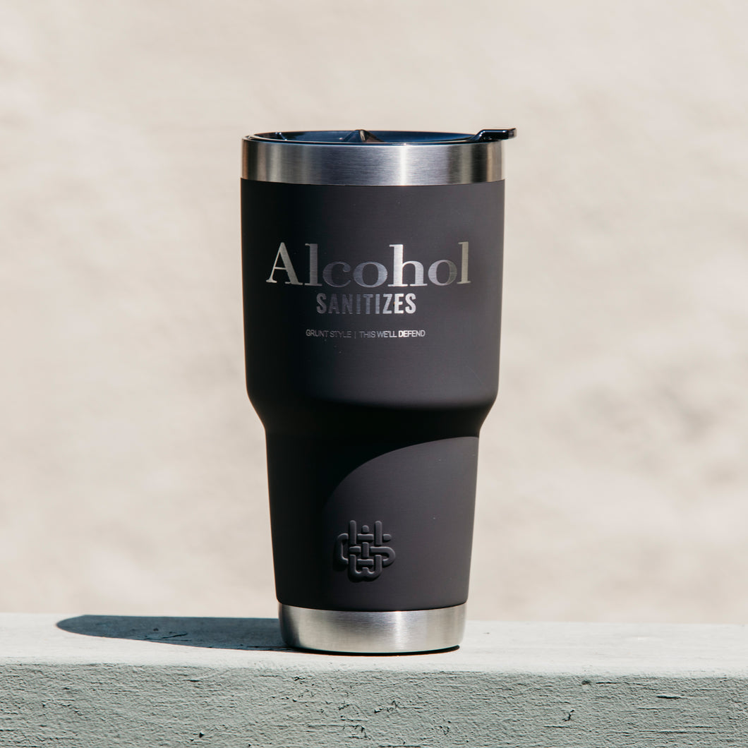 Alcohol Sanitizes 30oz Tumbler