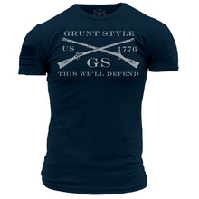 Load image into Gallery viewer, Grunt Style Logo Basic - Midnight Navy
