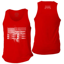 Load image into Gallery viewer, Ammo Flag Men's Tank - Red