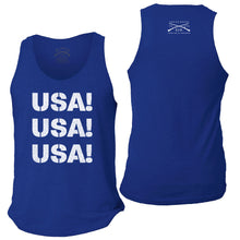 Load image into Gallery viewer, USA Men's Tank - Royal Blue