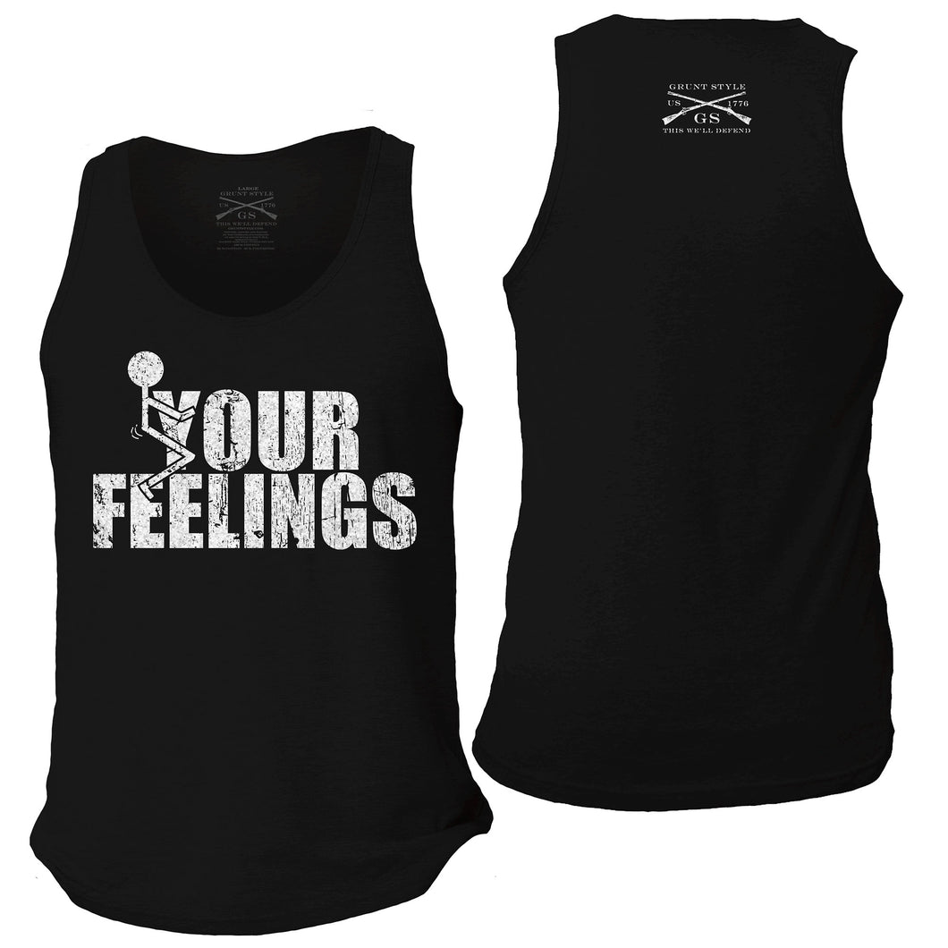 F*ck Your Feelings Men's Tank