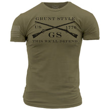 Load image into Gallery viewer, Grunt Style Logo Basic - Military Green