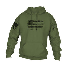 Load image into Gallery viewer, Vintage American Hoodie - Military Green