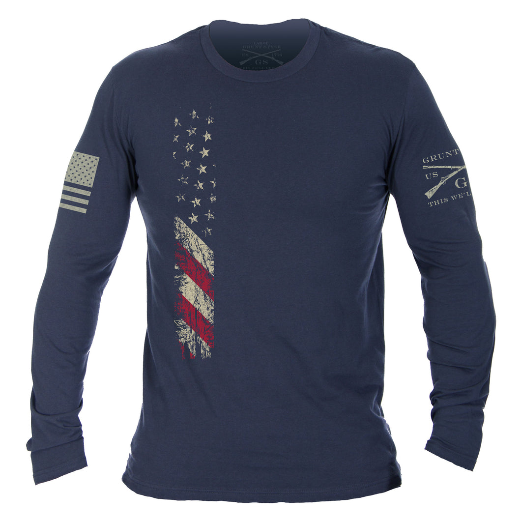 True Colors Long Sleeve - Indigo