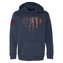 Load image into Gallery viewer, Super Patriot 2.0 Poly Hoodie