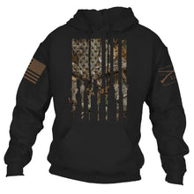 Load image into Gallery viewer, Realtree Edge® - Rifle Flag Hoodie