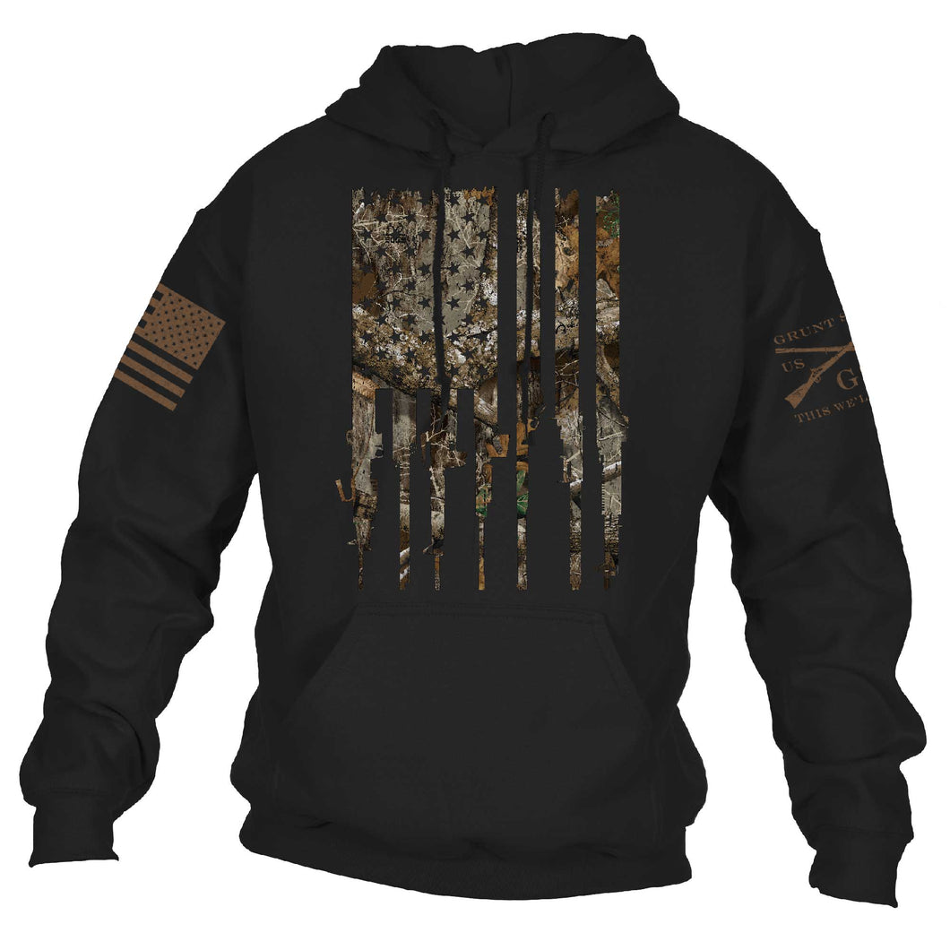 Realtree Edge® - Rifle Flag Hoodie