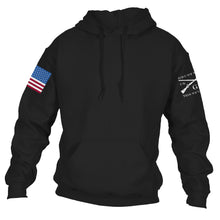 Load image into Gallery viewer, Full Color Flag Basic Hoodie - Black