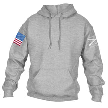 Load image into Gallery viewer, Full Color Flag Basic Hoodie - Sport Grey