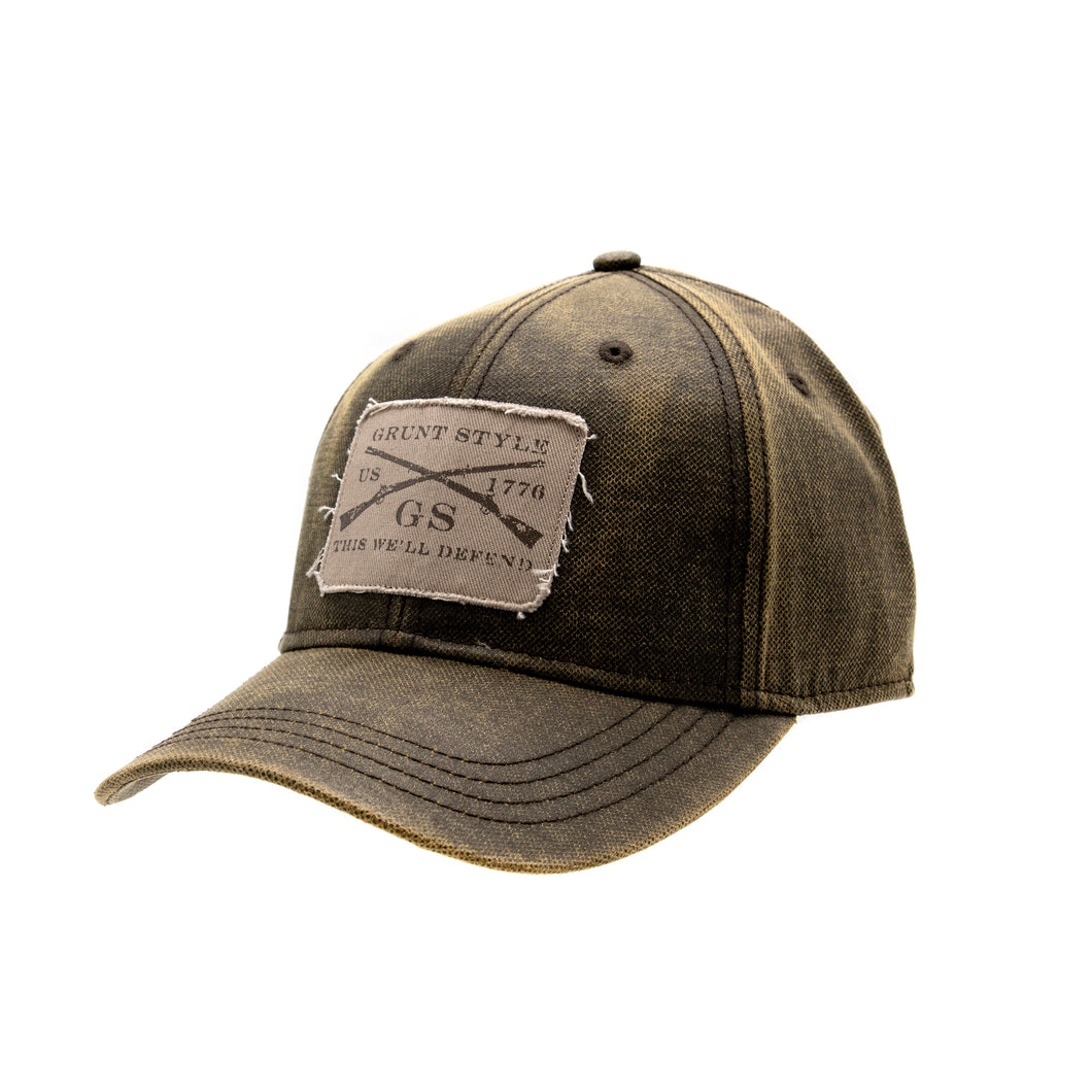 Grunt Style Faux Waxy Cotton Hat