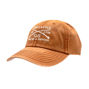 GS Burnt Orange Wash Hat