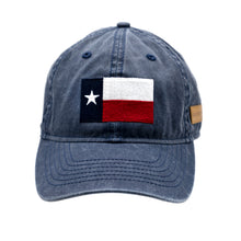 Load image into Gallery viewer, Grunt Style Texas Flag Blue Wash Hat