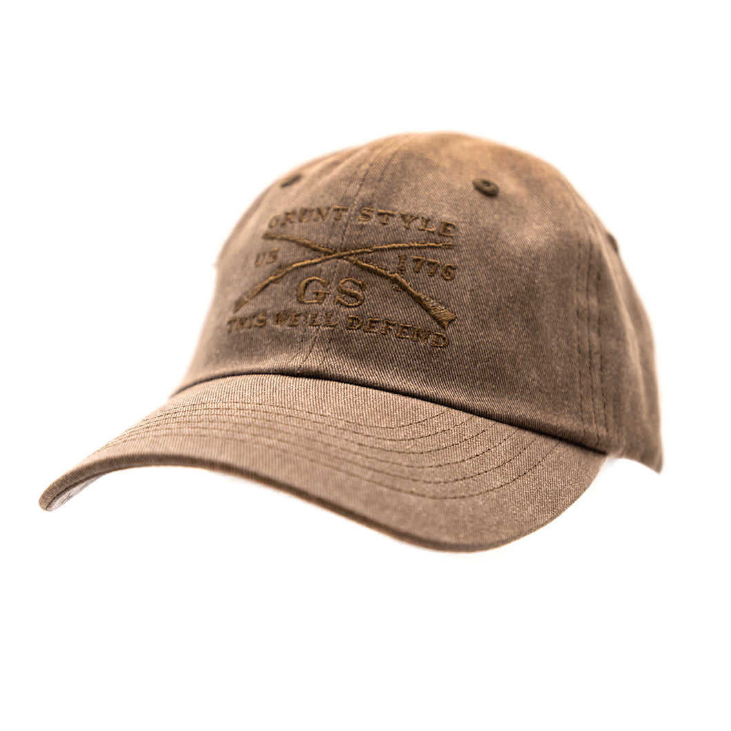 GS Brown Wash Hat